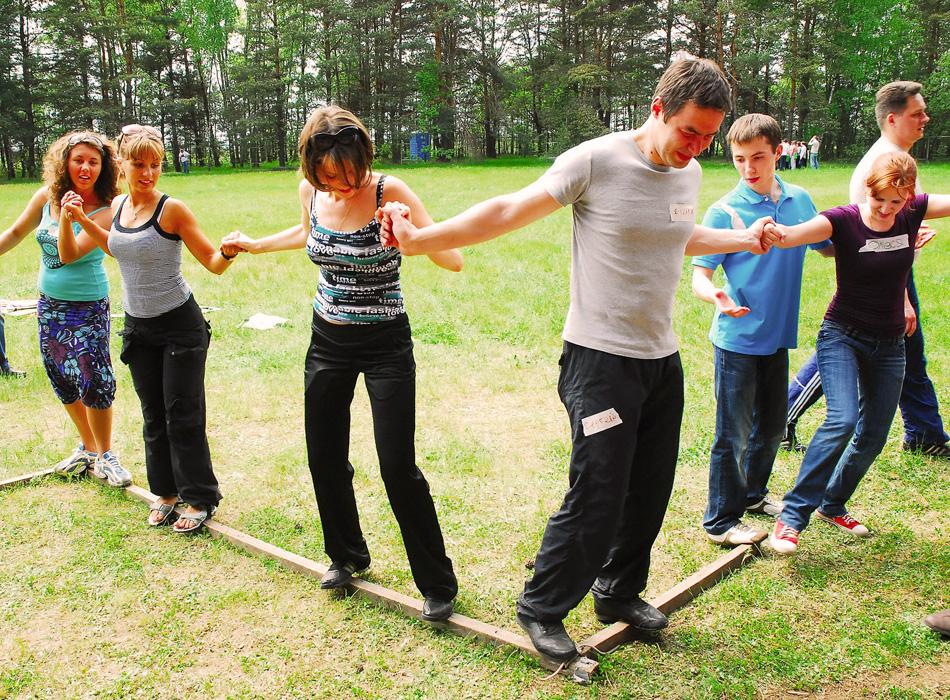 Какие упражнения практиковать на тимбилдинге