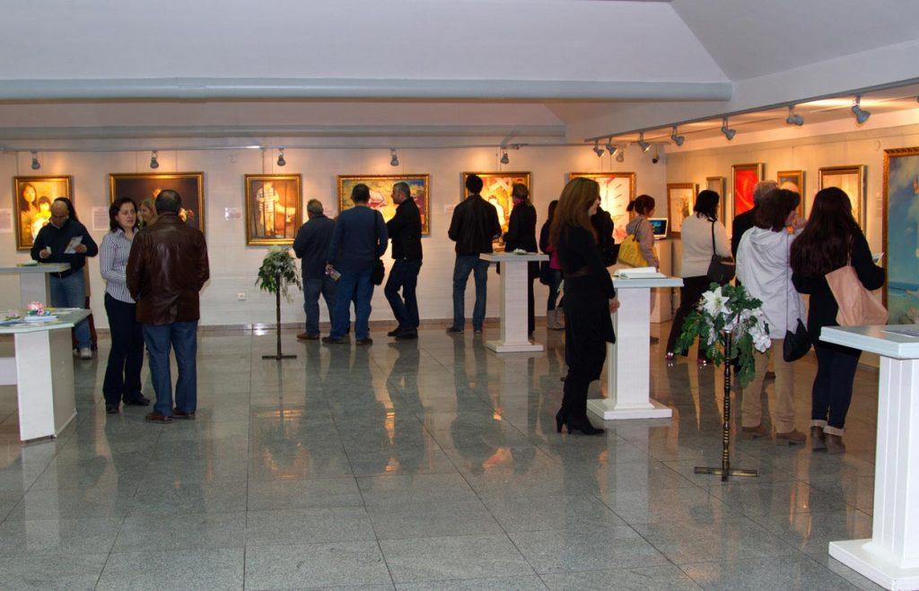 Организация художественных выставок