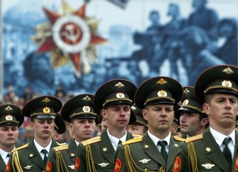День вооружённых сил РФ
