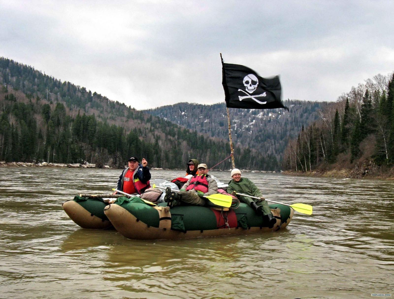 Тимбилдинг «Пиратская история»
