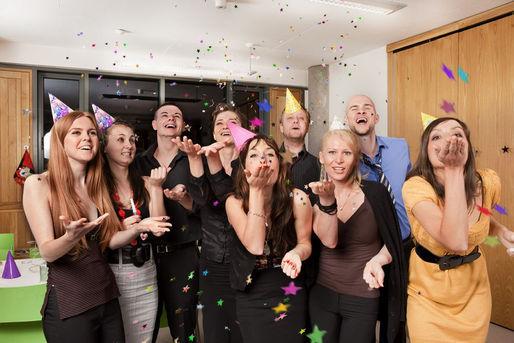 девичья вечеринка в компании