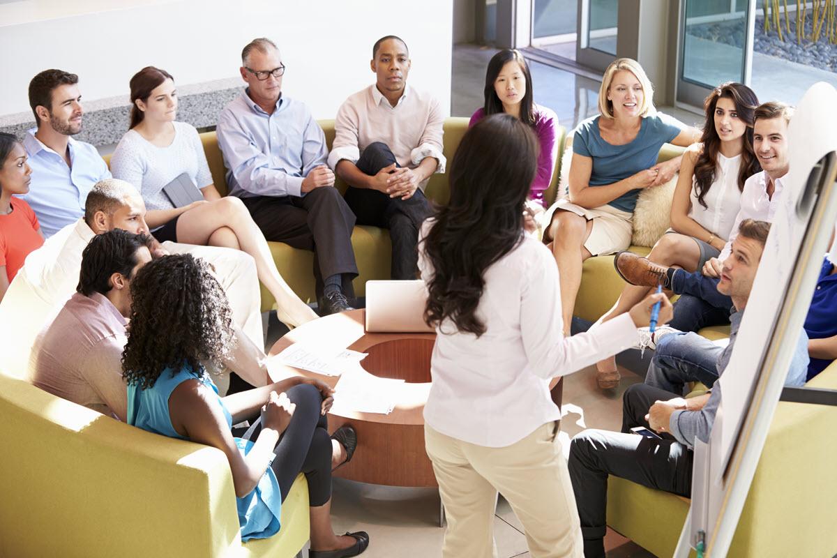 обсуждение важных для коллектива
